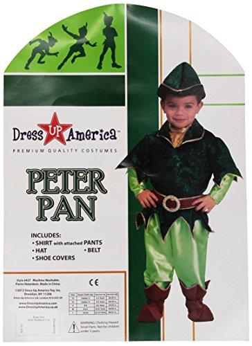 Dress Up America Costume Deluxe Peter Pan