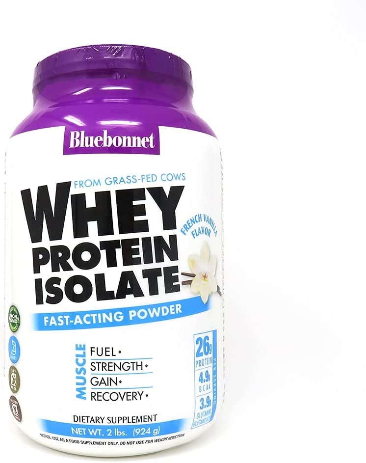 BlueBonnet Nutrition Free Shipping New Whey Protein Isolate Fed Low price Grass From Powder
