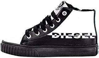 Diesel Black & White Fashion Sneakers For Boys