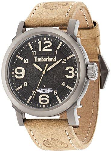Timberland Reloj Analogico para Hombre de Cuarzo con Correa en Piel TBL14815JSU.02
