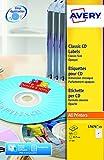 Avery CD-/DVD-Etiketten (für Laserdrucker)