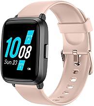 YAMAY Smartwatch con Oxímetro de Pulso Esfigmomanómetro y Pulsómetro Reloj Inteligente..