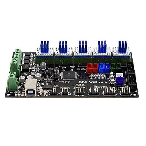 LHQ-HQ MKS-GEN Integrated Controller Mainboard V1.4 + 5pcs TMC2130 V1.0 Schrittmotortreiber unterstütztes Ramps1.4 / Mega2560 R3 for 3D-Druckertreiber-Module
