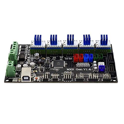 ZJN-JN MKS-GEN Controller intégré V1.4 + Mainboard de TMC2130 V1.0 Stepper Motor Driver Compatible Ramps1.4 / Mega2560 R3 for les modules du pilote d'imprimante 3D Pilotes industriels à moteur électri