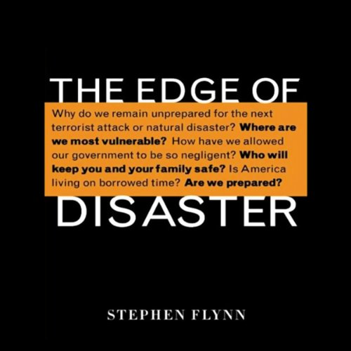 The Edge of Disaster audiobook cover art