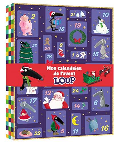 Mon calendrier de lavent Loup : Avec 10 figurines