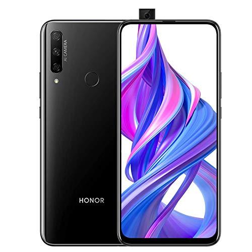 """HONOR 9X Smartphone, 2020 NEW 4GB 128GB Telefono, Schermo Intero Da 6,59"""", Dual SIM Telefoni Ricarica Rapida 4000mAh, Nero"""