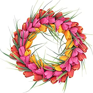 H&W Tulip Wreaths
