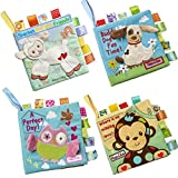 Best Soft Books For Babies - HanShe Baby Soft Book Cloth Book Set 4 Review
