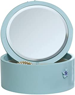 SHYPT Specchio per Il Trucco con, organizzatore di Trucco, Design Pieghevole di scatole, per Viaggi e Viaggi d'Affari.