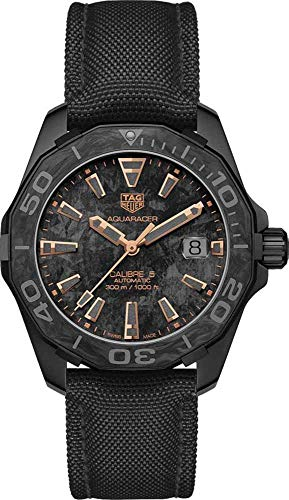 Tag Heuer Aquaracer Carbon Collection Calibre 5 Herren-Armbanduhr WBD218A.FC6445