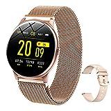 LIGE Smart Watch with Heart Rate Blood Pressure Blood Oxygen, IP67 Waterproof Smartwatch Bluetooth Smart Bracelet for iOS Android Phones Women Men