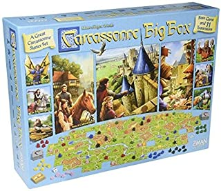 Carcassonne Big Box 2017 Tile Game