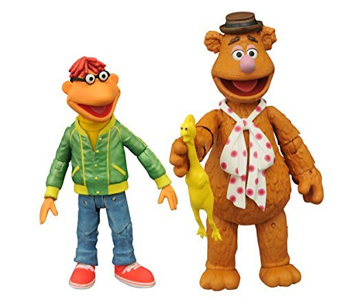 The Muppets SEP158428 Fozzie and Scooter Action Figure (Multi-Pack) by Muppets