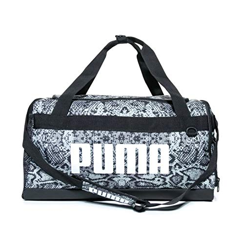 PUMA Small Challenger Workout Training Duffel Duffle Holdall Bag Snake Print