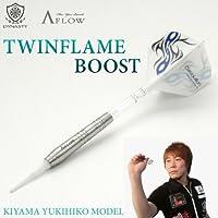 DYNASTY TWIN FLAME BOOST(ツインフレーム・ブースト) 木山幸彦モデル ソフトダーツ/バレル/矢