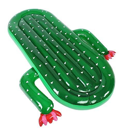 Colchonetas y Juguetes Hinchables PVC Inflable Cactus Piscina del Anillo del Flotador Plataforma de baño de Agua Monte Juguete Inflable Piscina Inflable para la Piscina
