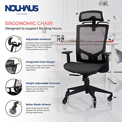 NOUHAUS ErgoTASK Ergonomic Chair