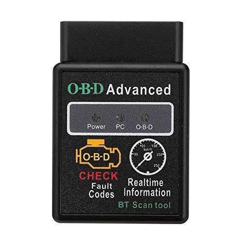 Car Diagnosis Scanner V2.1 OBD-2 HH O-B-D ELM327 Works Android Torque BT ELM327 HH O-B-D Interface ELM327