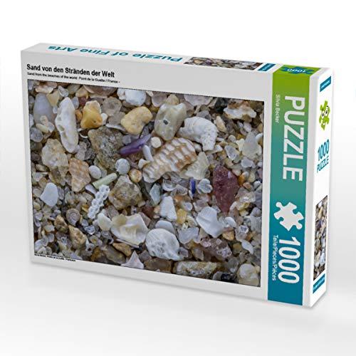 CALVENDO Puzzle Sand von den Stränden der Welt 1000 Teile Lege-Größe 64 x 48 cm Foto-Puzzle Bild von Silvia Becker