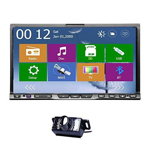 Sp?teste Art Car Stereo Unversal Auto GPS DVD Player 2 DIN 7 Zoll Aux Navi Radio-Headunit HD-Touch Digital Touch Screen-Funktion Bluetooth BT