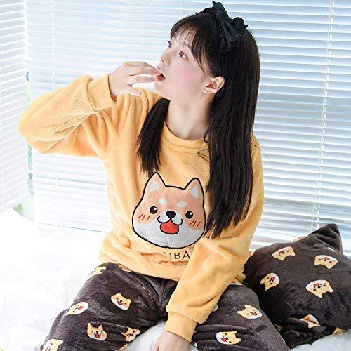 ODMKGE Pijama Grueso M
