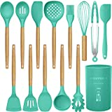 14 Pcs Silicone Cooking Utensils Kitchen Utensil Set,446°F Heat...