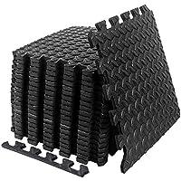 Suhedbn EVA Interlocking Foam Tiles 20 Square Feet Gym Exercise Equipment Mat