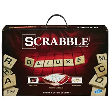 Hasbro Scrabble Deluxe Edition Game