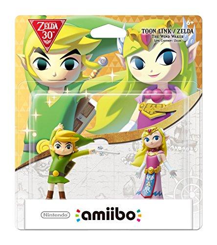 Nintendo Toon Link/Zelda : The Wind Waker amiibo 2-Pack - Nintendo Wii U