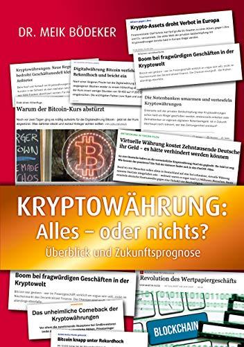 Kryptowährung: Alles - oder nichts?: Überblick und Zukunftsprognose