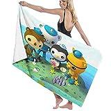 Terry B Dosxyaa Oc-to-Nauts Fashion Microfiber Bath Towel(32' X 52'),Soft,No Fading Multipurpose Use for Sports,Fitness,Yoga
