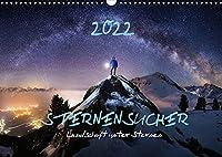 Sternensucher - Landschaft unter Sternen (Wandkalender 2022 DIN A3 quer): Sternensucher - Die schoensten Landschaften unter dem Sternenhimmel (Monatskalender, 14 Seiten )