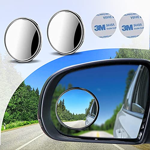 Blind Spot Rear View Mirror For Car, Motorcycle, SUV & Truck - 2 Pcs Rearview...
