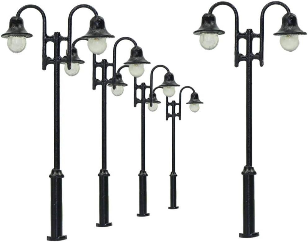 HDHUIXS Wonderful LYM30 New products At the price world's highest quality popular 5pcs Model Railway Lamp 1:87 Ligh Street