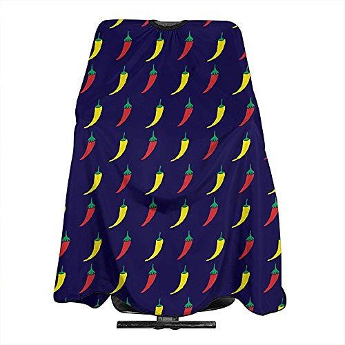 Haarsnit Kaap Peper Chill Patroon Kaap Doek Salon Styling Kappers Wrap Haar Snijden Accessoire Voor Unisex Kapper Kapsel Schort Doek