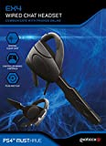 Gioteck - Auricular mono chat con cable EX4 para PS4 (PS4)
