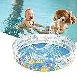 ZFAYFMA Piscina de remo para bebé, juguetes de agua de verano, piscinas hinchables masculinas y femeninas, suministros para fiestas acuáticas, niños y adultos, talla S
