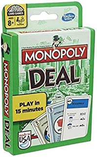 Hasbro Monopoly Deal Cards