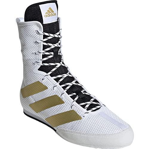 [アディダス] メンズ レディース ボクシングシューズ BOX HOG 3 フットウェアホワイト/ゴールドメタリック/コアブラック 25.0cm