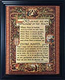 Framed. The Simple Prayer for Peace. Written by St. Francis of Assisi in the...