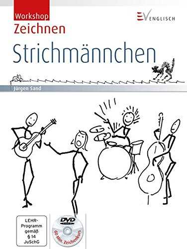 Workshop Zeichnen: Strichmännchen (inkl. DVD)