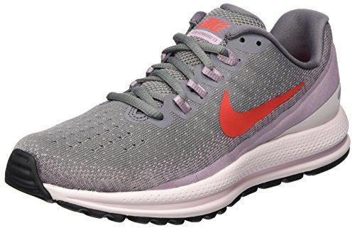 Nike Wmns Air Zoom Vomero 66, Women's Running Shoes, Grey (Gunsmoke/habanero Red-elemental Rose 004), 4 UK (37.5 EU)