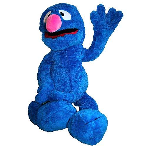 Living Puppets SE102 Grobi - Marionetas de Mano, 65 cm, Color Azul