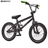 KHE BMX Fahrrad Barcode CS 16 Zoll schwarz nur 9,6kg!