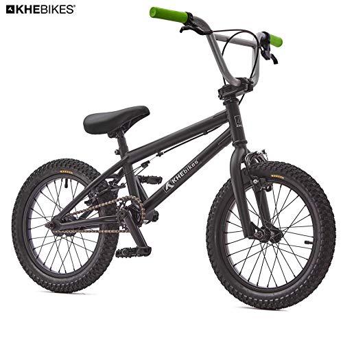 KHE BMX CS Vélo BMX Noir 16 Pouces Seulement 10,0 kg