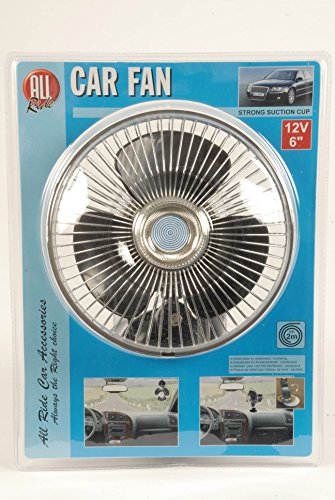 All Ride 871125272229 Ventilator, 12 V mit Saugnapf