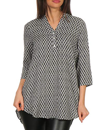 Vero Moda dames tuniekshirt VMSIMPLY EASY 3/4 TUNIC TOP WVN GA