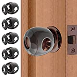 Bronze - Door knob Baby Safety Cover - 5 Pack - Deter Little Kids from Opening Doors with A Child Proof Door Handle Lock - Diddle