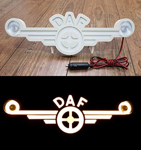 Générique Plaque LED 3D 24 V néon pour Camion, Camion, camionnette, Tableau Blanc Ancien Logo illustrant Uniquement vers l'avant – Ne Vous dérange Pas Pendant la Conduite.